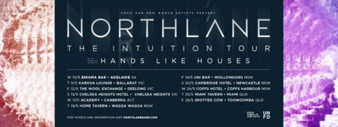 Northlane Intuition Tour